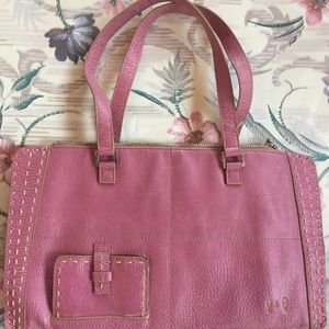 Handbags - Via Vegan Pink Purse